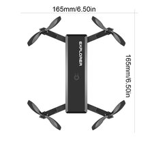 RC Drone Large Battery Capacity Folding Quadcopter Fixed Height Professional Gesture Camera Remote Control Aircraft