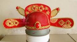 Dinastia tang palace court ufficiale cappello poeta libai cappello 3 disegni