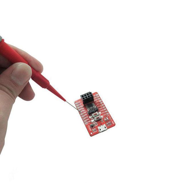 4pcs/set Auto Oscilloscope Bausatz Acupuncture Tools Car Multimeter Test Lead Extention Back Piercing Needle Tip Probes Tool
