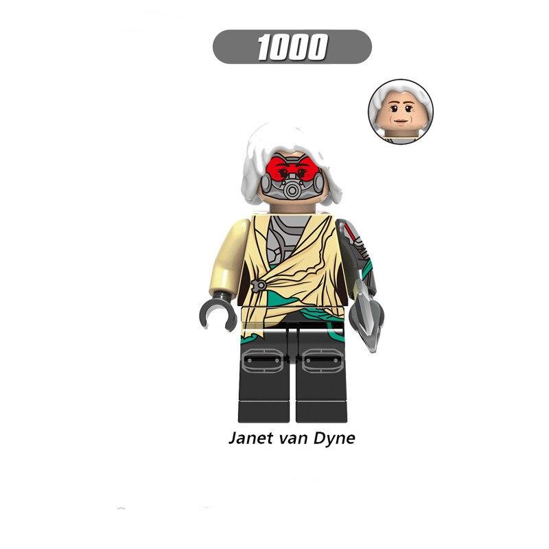 Single Sale LegoINGlys Enlighten Avengers Figures Janet Van Dyne Wasp Bill Foster Building Blocks Action Toys For Boys Gifts