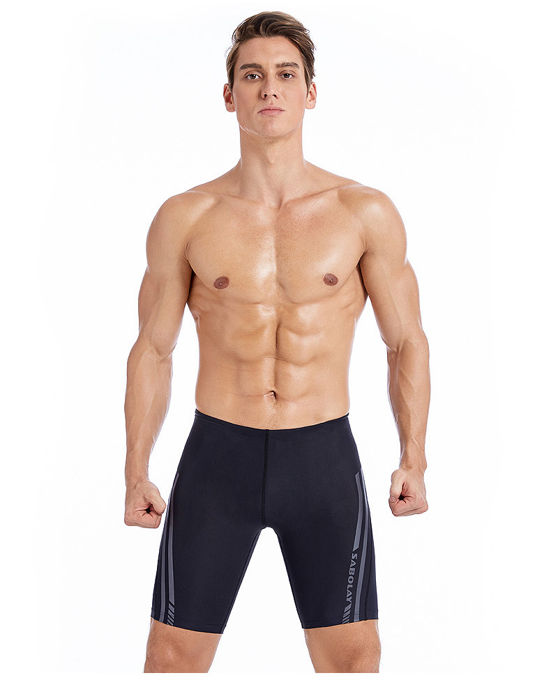 Men arena swim jammer competition swimsuit tracking swimming jammer suit mens  swimming shorts swimwear men racing swim trousers|Body Suits| - AliExpress