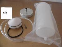 1 sztuk/partia pustych plastikowych Drppper 500CC Wysokiego ciśnienia dużej pojemności Butelki/Ciecz Ściekowe/maszyna wydająca strzykawki akcesoria