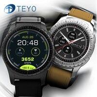 Teyo Bluetooth Smart Watch Heart Rate Monitor Fitness Bracelet Pedometer GPS Watch SIM Card Clock Smartwatch