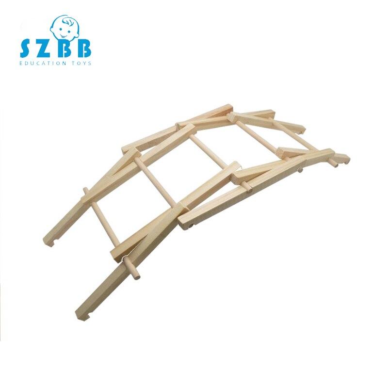 SZ vapeur modèle jouet bricolage Bally pont développement Intelligent tige jouet Science physique expériences cadeau d'anniversaire SZ3287