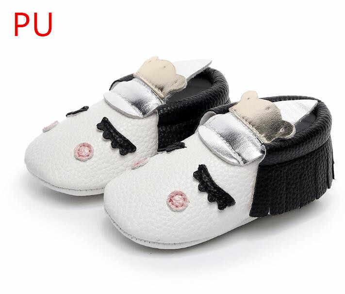 d5fe3a86ca PU Leather Unique style newborn baby moccasins toddler baby christmas gifts  party shoes Blush golden angle Unicorn Baby boot