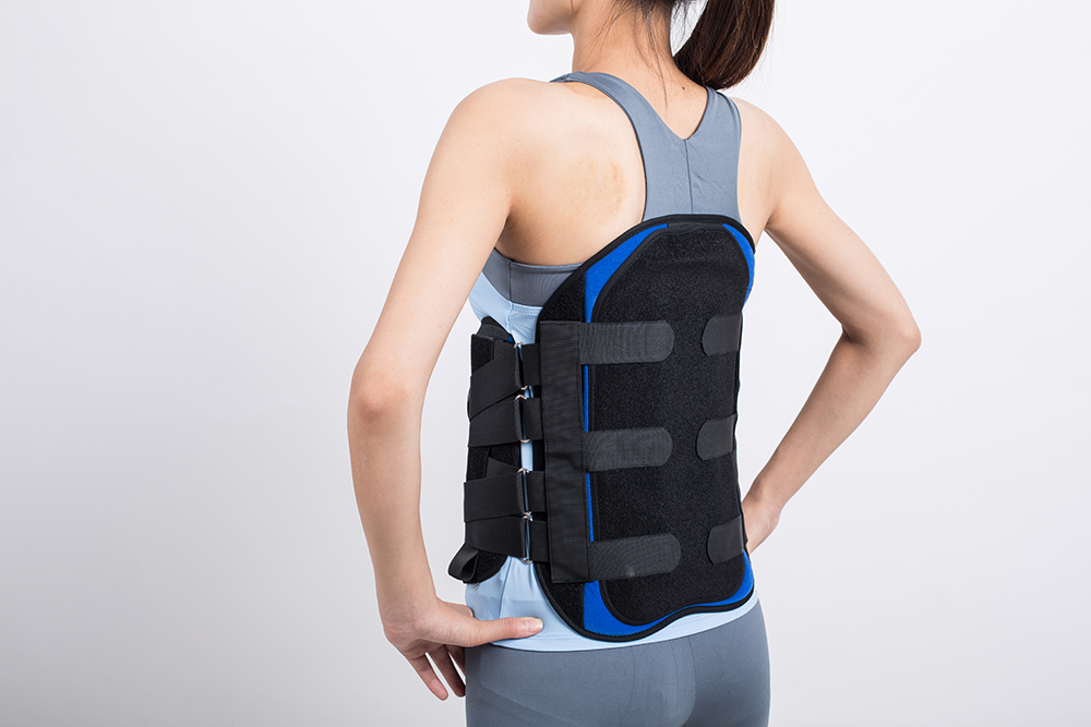 Lumbar support LJ-406 waist support For thoracolumbar vertebral fracture,osteoporosis and vertebral displacement 406
