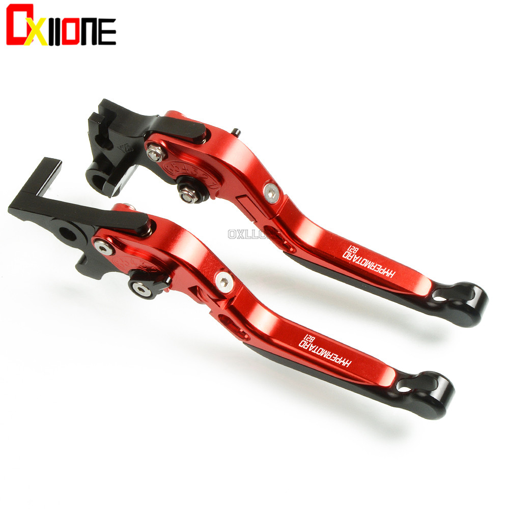 CNC Adjustable Brake Folding Extendable Clutch Levers Set For Ducati HYPERMOTARD 821 / HYPERSTRADA  2013 2014 2015  Motorcycle