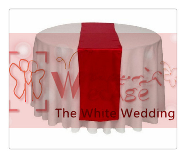 Exceptionnel 36 Piece Dark Red Table Runners For Wedding FREE SHIPPING Rustic Runner  Table