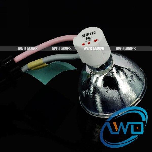 ФОТО BL-FS180B / SP.88N01GC01 Original bare lamp for OPTOMA DS306/DS309/DS312/DS315/DX606/DX609/DX615/EP620/EP720/EP721/EP726S/EP727