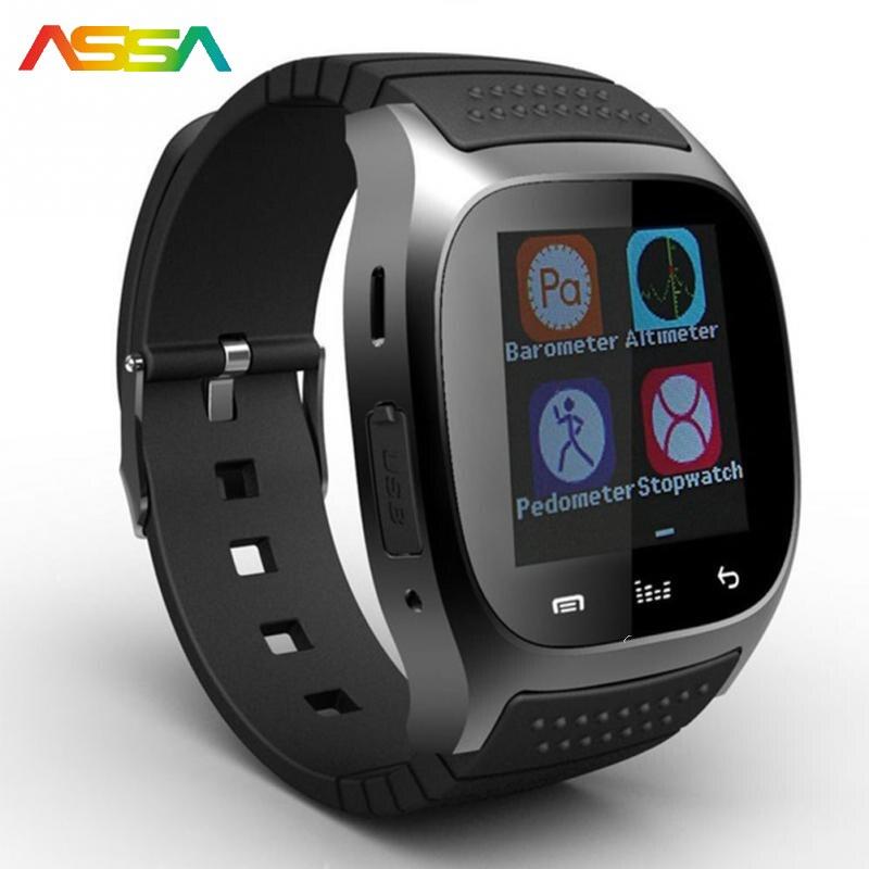 imágenes para Reloj de los hombres de Los Hombres Top Usable Dispositivos Podómetro Pantalla LED Inteligente Relojes de Fitness Inteligente Rastreador Salud Deportes Muñeca Relojes móvil Android