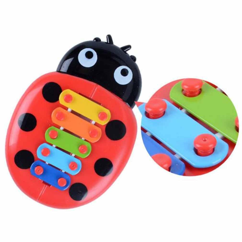 Juguetes Educativos de Piano de mano Harp Boy Girl Musical bebé juguete 8-Note Xylophone para 0-3 niños pequeños de años
