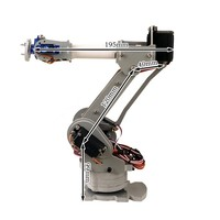 6DOF controlled 6 axis parallel mechanism laser cut robot arm PalletPack industrial robot arm arduino
