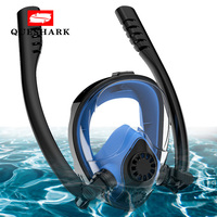 Waterproof Full Face Scuba Diving Mask Underwater Keep Drying Anti Fog Snorkeling Swimming Mask for Gopro Camera