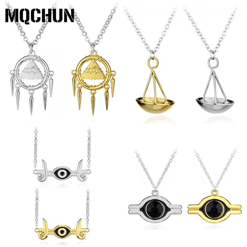 Hot Anime Game Yugioh Yugi Muto Cosplay Accessories Jewelry Necklace - Fashion Jewelry