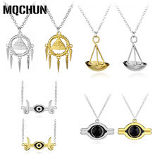 Hot Anime Game Yugioh Yugi Muto Cosplay Accessories Jewelry Necklace Anime Yu-Gi-Oh Millenium Pendant Yu Gi Oh Costume Items -30(China)