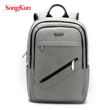 SongKun New Waterproof Backpack 15Inch Laptop Backpack Men Fashion Male Travel Bag Anti Thief School Bag Large Capacity Man Bag
