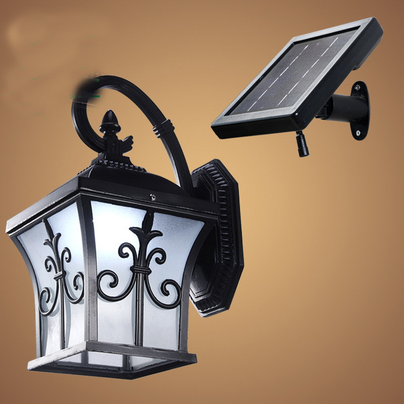 Solar Power Led Porch Lights Outdoor Sconces Wall Outdoor Lights ...