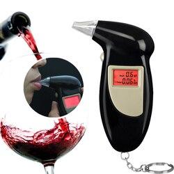 Promotion Porte-Clé Professionnel Breath Police Numérique Alcool Testeur Alcootest Analyseur Détecteur Audio Alerte Livraison Gratuite