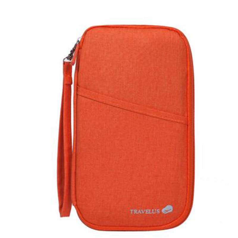 SHUSHIRUO Women Long Travel Wallets Multifunction Waterproof Holder Phone Passport Lady Bussiness Travel Purse Zipper ID Credit