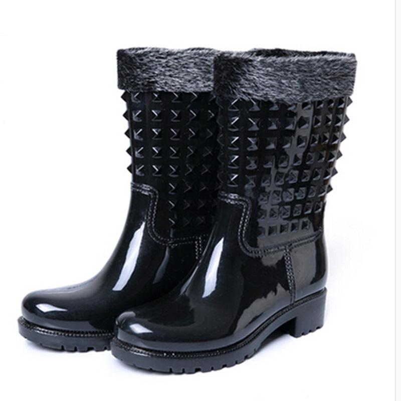 Popular Rubber Half Rain Boots-Buy Cheap Rubber Half Rain Boots ...