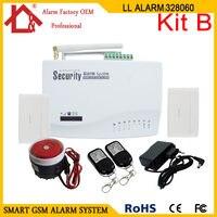 Wireless GSM House Security Burglar Intruder Alarm System