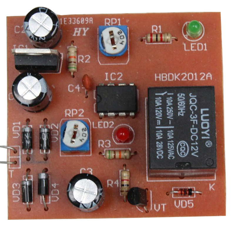NE555 Timer Switch Module DIY Kit DC 5V Electronic Experiment Kit Electronic Enthusiasts
