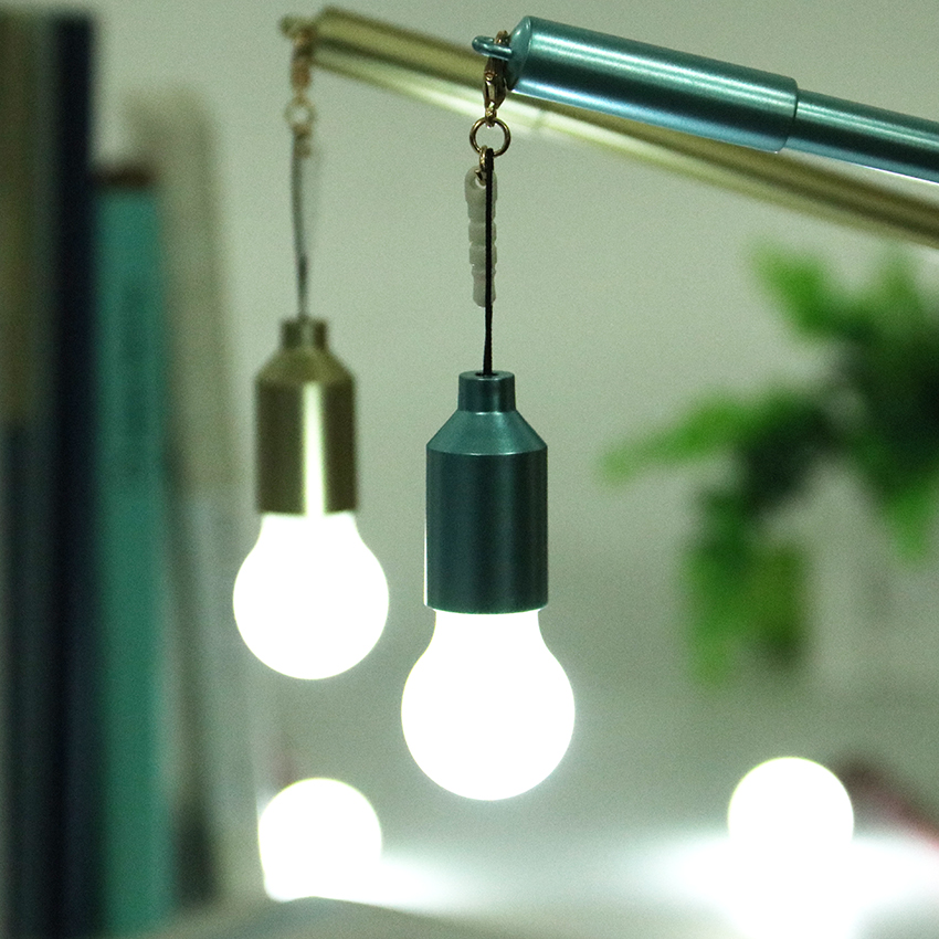 1PC Creative Dust Plug Lamp Bulb Pendent Gel Pen Black 0.38mm Light Neutral Pen Stationery School Supplies Gift