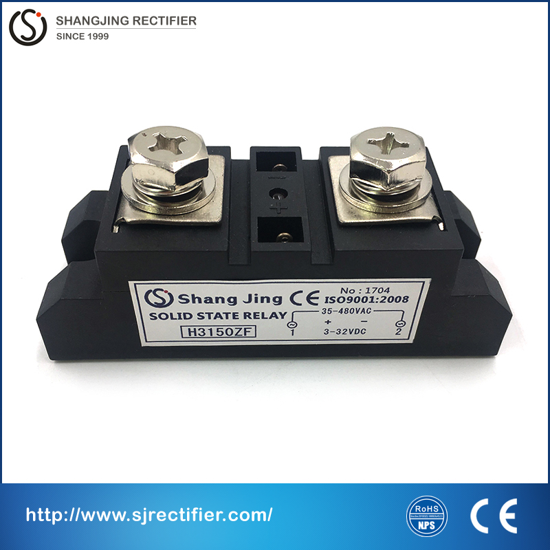 New style SSR current 150A contactless switch function no sparks input 3~32VDC output 35~480VAC industry solid state relay new and original sa34080d sa3 4080d gold solid state relay ssr 480vac 80a