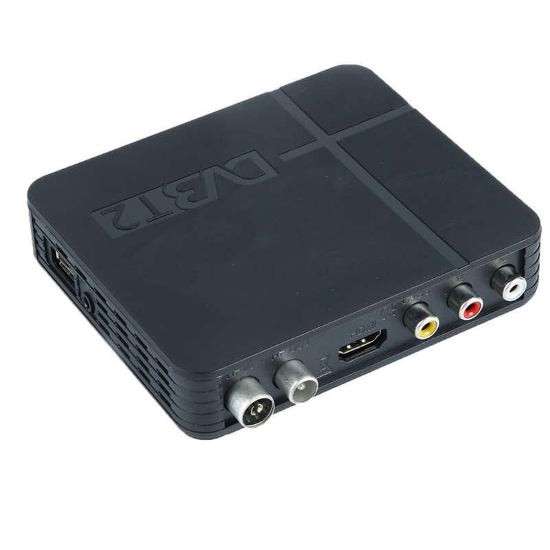Le plus récent récepteur de Signal de prise ue de Tv entièrement pour Dvb-T numérique terrestre Dvb T2 H.264 Dvb T2 minuterie pas de prise en charge pour Dolby Ac3 P