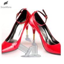 SexeMara1 Pairs High Heel Protectors Latin Stiletto Dancing Covers Heel Stoppers Antislip