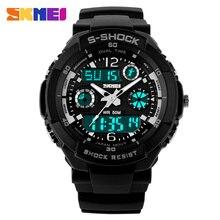 2016 New Luxury Brand SKMEI S-SHOCK Fashion Sport Watch  LED Electronic  50M Waterproof Outdoor Digital Watch