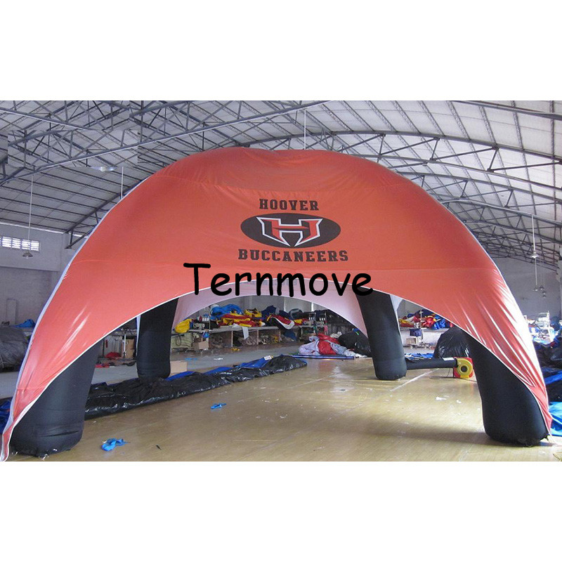 inflatable spider tent with 4 spider pillars for advertising,promotion,Inflatable Canopy Tent,events inflatable air dome tent inflatable cartoon customized advertising giant christmas inflatable santa claus for christmas outdoor decoration