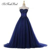 Макси Vestido милое с аппликацией ТРАПЕЦИЕВИДНОЕ длинное Тюлевое синее вечернее элегантное вечернее платье женское платье для выпускного