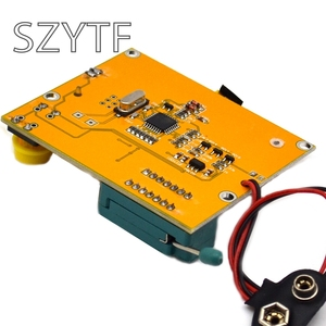 Image 3 - Mega328 M328 LCR T4 ESR متر LCR led الترانزستور تستر صمام ثنائي ثلاثي المسار السعة MOS PNP/NPN