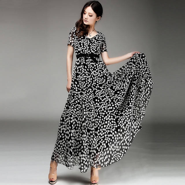 Long dresses casual ankle