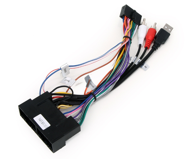 popular toyota stereo wiring buy cheap toyota stereo wiring lots hotaudio ha2xxx stereo wiring harness adaptor power cable for iso toyota vw nissan kia hyundai mitsubishi