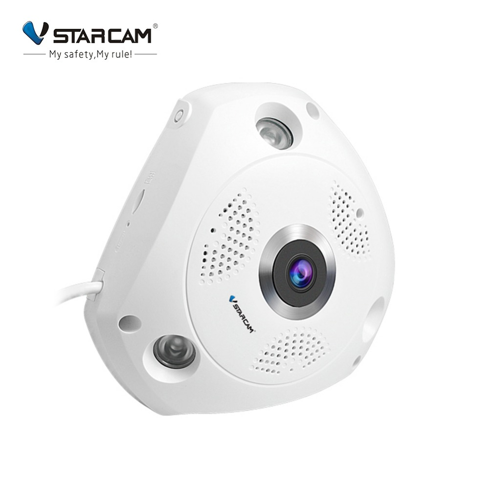 Vstarcam C61S 360 Degree Panoramic HD 1080P Wireless WiFi IP Camera Night Vision Webcam Camcorder Video