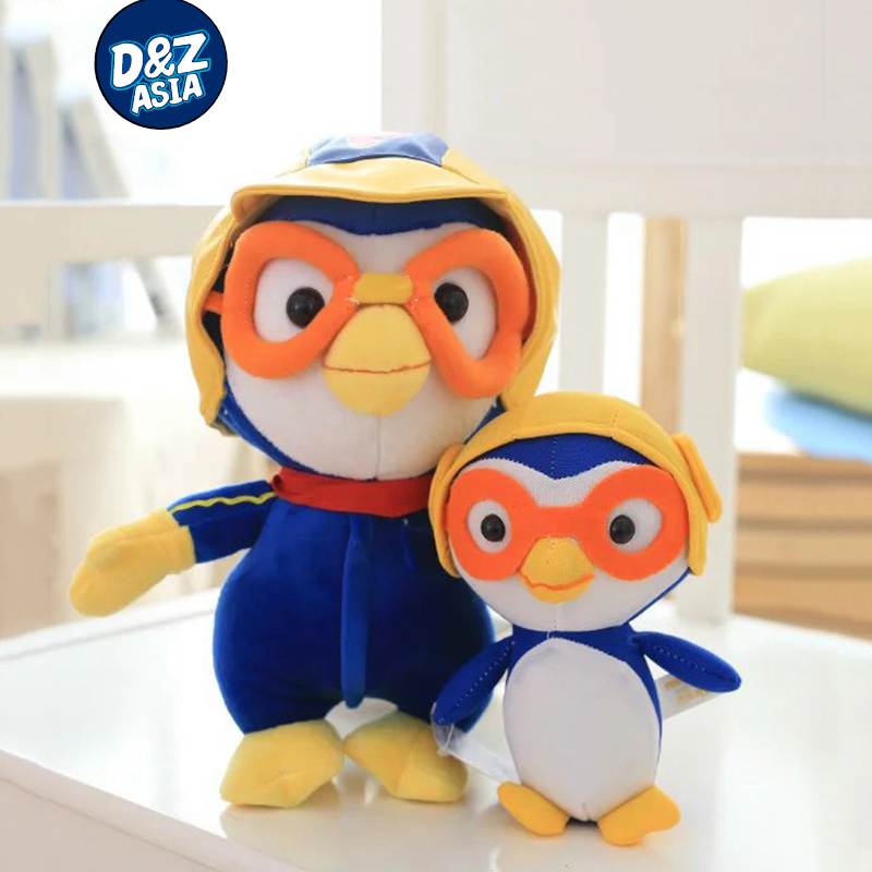 Pororo Plush Toys Plush Dolls Kawaii Penguin Model 6'' 20CM Anime Pororo Figure Toys Best Gift For Children Drop Shipping посуда для детей little penguin pororo