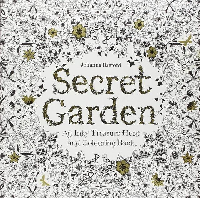 Secret Garden libros para colorear alta calidad Original inglés ...