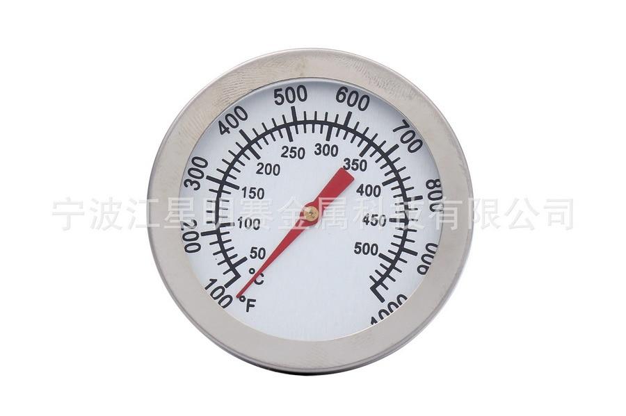 DHL 100 قطعة 50 500C الفولاذ المقاوم للصدأ شواء الشواء ترومتر شواية مقياس درجة الحرارة-في مقاييس درجة الحرارة من المنزل والحديقة على  مجموعة 1