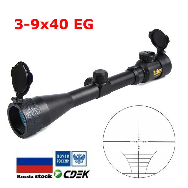 3-9x40 Golden Making Tactical Optics Riflescope Outdoor Reticle Optic Sight Rifle Scope for Airsoft Gun Hunting Scopes