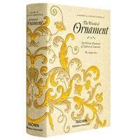 Новый мир орнаментов книга для взрослых графический узор дизайн книги искусства одежда в твердом переплете книга