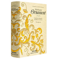 New The World of Ornament book for adult graphic Pattern design art book clothing hardcover book