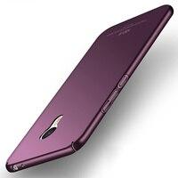 Meizu M3 Note Phone Cases High Quality Luxury Anti Fingerprints Ultra Thin Hard Plastic Back Cover