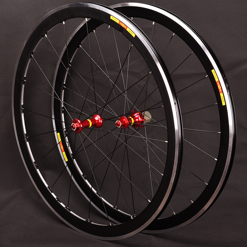 Ultralight 700c 40mm depth 19mm width V Brake Aluminium Wheelset Road Bicycle Bike Wheels Rims 7/8/9/10/11SUltralight 700c 40mm depth 19mm width V Brake Aluminium Wheelset Road Bicycle Bike Wheels Rims 7/8/9/10/11S