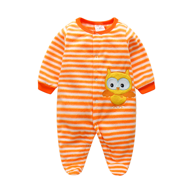 Clearance Sale Baby Boy Rompers Autumn Warm Polar Fleece Clothing Set Cartoon Infant Girl Clothes Newborn Overalls Baby Jumpsuit 0 12m baby rompers winter warm fleece clothing set for boys cartoon monkey infant girls clothes newborn overalls baby jumpsuit