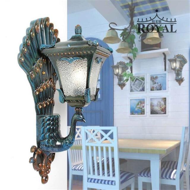 Corner Lamp Metal Wall Sconce Antique Bedside Lamps Dimmable Led Lights Light