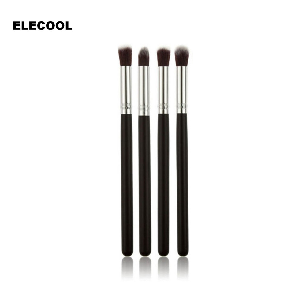 ELECOOL 4/1Pcs/set Professional Eyeshadow Brushes Blending Eye Shadow Eyelash Pencil Brush Makeup Tool Top Quality for Women кисть tony moly professional blending shadow brush 1 шт