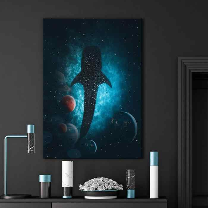 Modern Wall Art Pictures Home Decor For Living Leviathan Canvas Set Poster Canvas Print