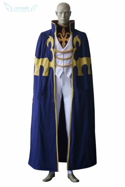 Здесь продается  Newest High Quality Code Geass Suzaku Kururugi Uniform Cosplay Costume ,Perfect Custom For You !  Одежда и аксессуары